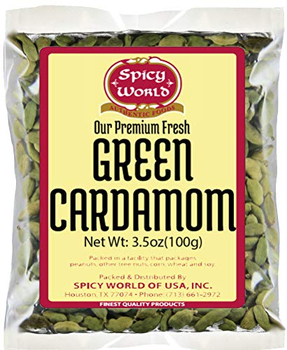 (Spicy World Green Cardamom Pods, 3.5 Ounce)