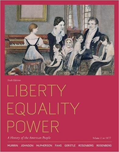 Amazon liberty equality power a history of the american liberty equality power a history of the american people volume 1 to 1877 6th edition fandeluxe Image collections