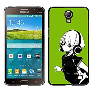 Impact Case Cover with Art Pattern Designs FOR Samsung Galaxy Mega 2 Green Anime Girl Betty shop