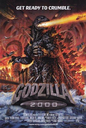 Godzilla 2000 Poster Movie 11x17 Takehiro Murata Shiro Sano Hiroshi Abe Naomi Nishida (Godzilla 2000 Poster compare prices)