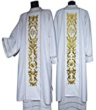 Christian Brands Church Supply YS923WHT IHS Dalmatic - White