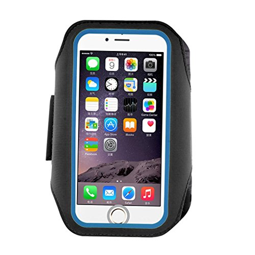 5.5inch Arm Band Phone Case, For Sports Gym Running Jogging Exercise (Black)