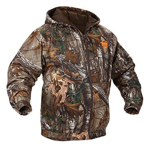 Onyx-Arctic Shield-X-System Unisex Quiet tech jacket, Realtree Xtra, X-Large