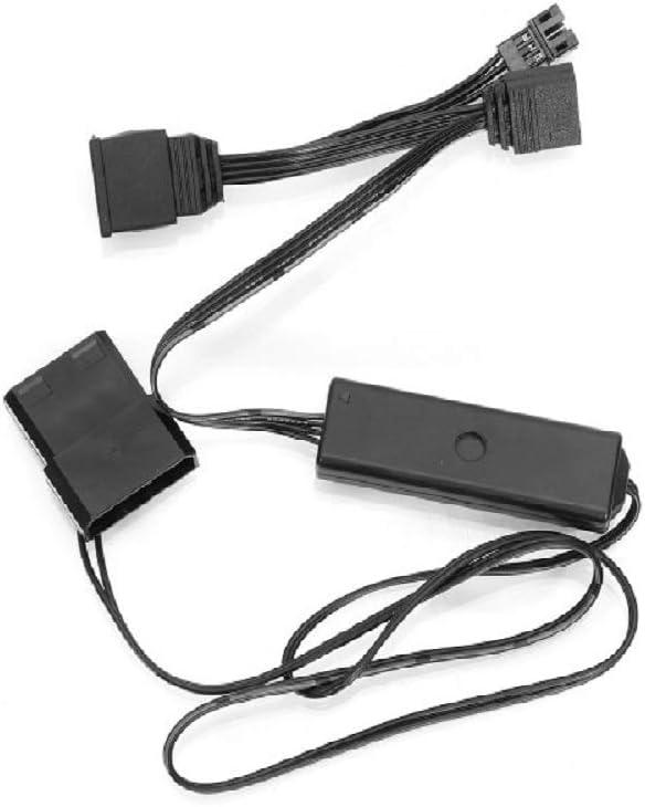 Computer Case Cooler Anit-Vibration Silent Cooler SHARKHAN PR120S RGB Cooler White