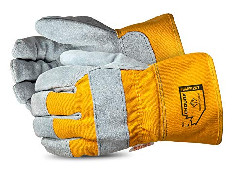 Fur Lined Glove - Superior Winter Work Gloves - Waterproof and Insulated Work Gloves for Cold Weather Conditions (Thinsulate - 66BFTLWT) - Size X-Large
