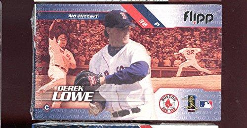 2002 Flipp Books Pedro Martinez Derek Lowe FlippBooks Baseball Flip Book Sports