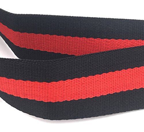 Adjustable Strap Black Replacement Wide Guitar body Handbag Red Black Purse Shoulder Style Belt Strap Cross wHqZR
