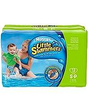 حفاضات للسباحة من هجيز، مقاس صغير، 12 حفاضة سباحة