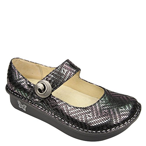Alegria Women's Paloma Pewter Dazzler 37 (US Women's 7-7.5) Regular by Alegria