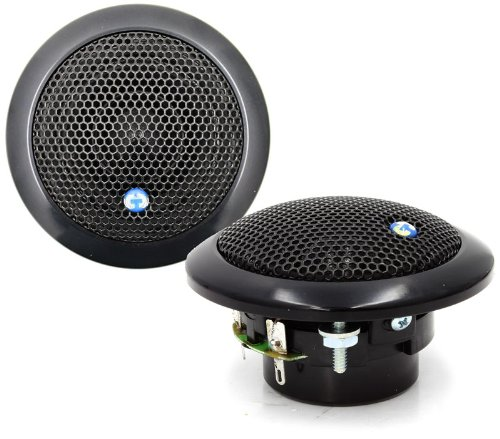 Es-02 Black Cdt Audio 2'' Ultra High-end Mids Tweeters Drivers Es 02bl New