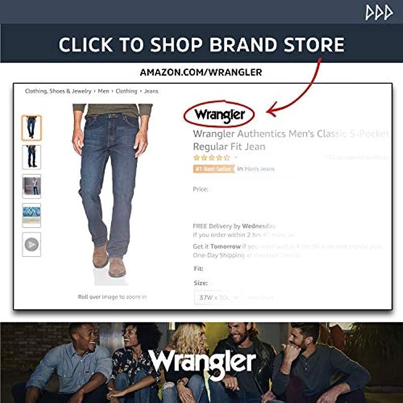 Wrangler męskie dżinsy: Odzież