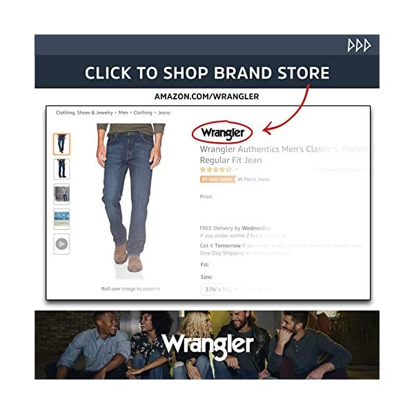 Wrangler Authentics Men's Relaxed Fit Jean 16