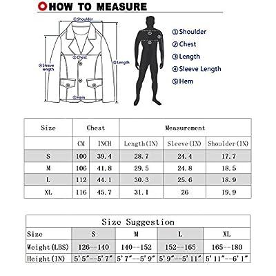 Beninos Mens Casual One Button Slim Fit Plaid Blazer Jacket Sport Coat at Amazon Men's Clothing store