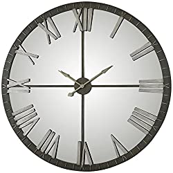Uttermost 06419 Amelie Bronze Wall Clock, Large