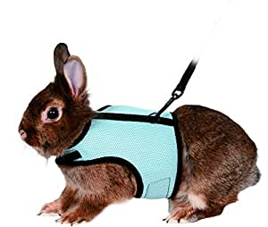 Trixie Pet Products 61513 1.20 m Rabbit Soft Harness with Leash-Nylon, Various, 25-32cm