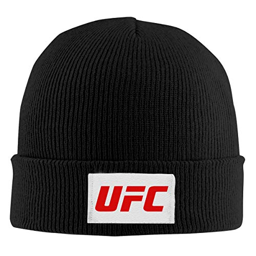 Winter Hat Knit Beanie Skull Cap UFC Thick & Soft Hats for sale  Delivered anywhere in USA