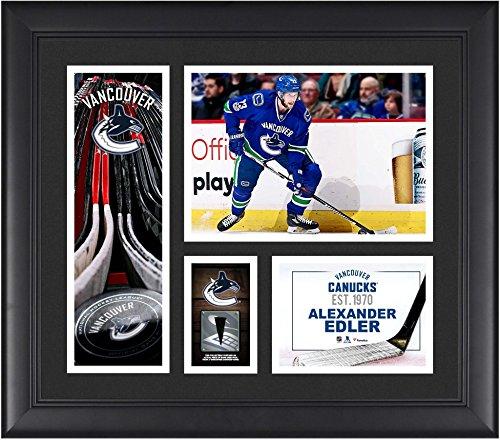 Alexander Edler Vancouver Canucks Framed 15
