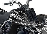Yamaha Banshee Graphics - Racer-X Black Background, White Design