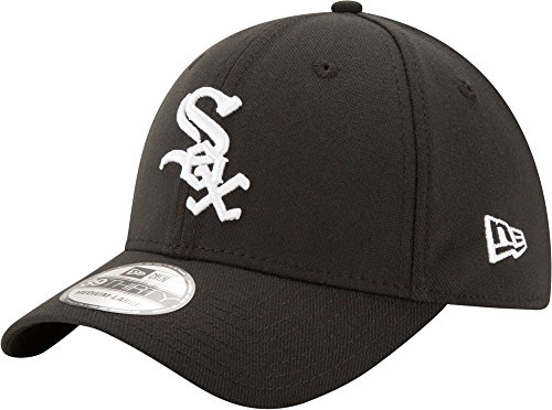 (MLB Chicago White Sox Junior Team Classic Game 39Thirty Stretch Fit Cap, Black, Toddler/Child)