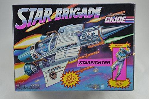 (3 3/4 Inch GI Joe Star Brigade STARFIGHTER Space Fighter Jet W/Exclusive SCI-FI Action Figure (1993 Hasbro))