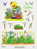 Suzy's Zoo Suzy Ducken My Garden Sticker 6 inches by 4.5 inches