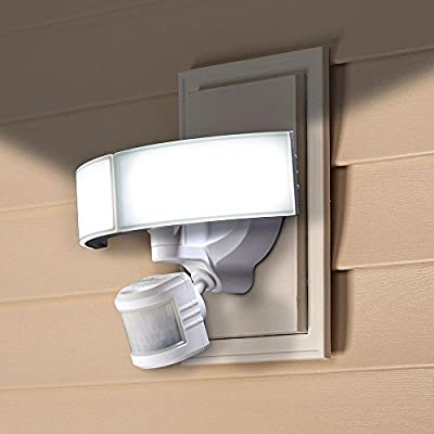 Defiant Outdoor LED Bluetooth 270 Degree Motion Security Light DFI-5985-WH