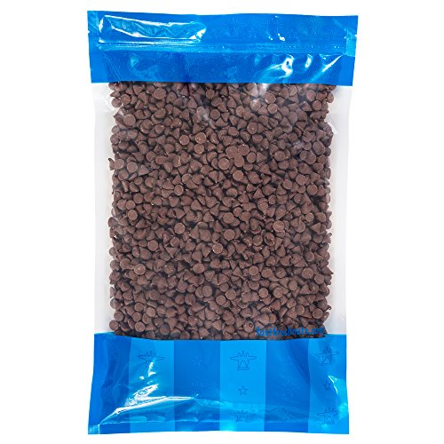 Bulk Milk Chocolate Chips - 5 lbs in a Resealable Bomber Bag - Great for Baking - Snacking - Cooking - Wholesale ()