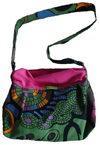 A Schumann Donna Multicolore multicolore Borsa Jessica parent Kreativwerkstatt Handtasche Spalla B1vXq5