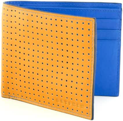 The Anka Pindot Bi Fold Leather Gryphen Wallet - RFID Secure - More Color Options