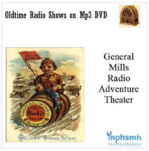 CBS RADIO ADVENTURE THEATER Old Time Radio (OTR) series (1977) Mp3 DVD Complete Series (56 episodes) Companion series to CBS Radio Mystery Theater