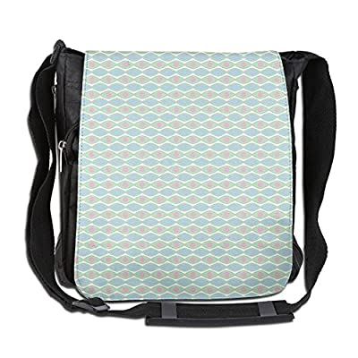 e43667e4d3 durable service Lovebbag Horizontal Elliptic Shapes With Dots Abstract  Symmetrical Pattern In Pastel Colors Crossbody Messenger