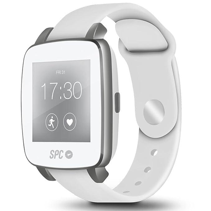 Spc SPC9610B - Smartwatch, color blanco: Amazon.es: Electrónica