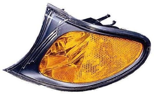BMW 3 Series Park Signal Light With Black Housing Driver Side Park Light Housing