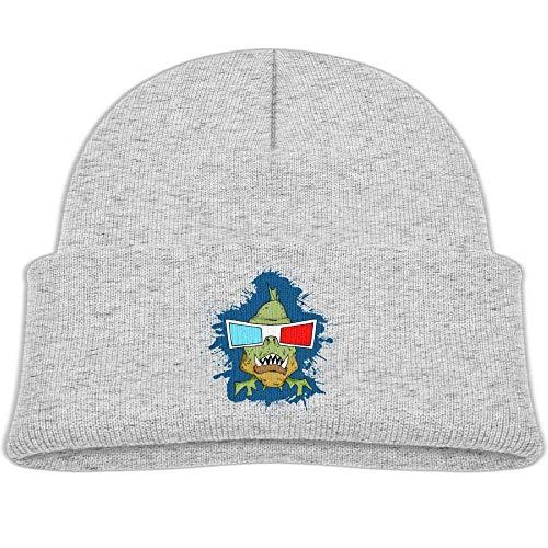 Knit Hats Beanies Caps Soft Skull Caps 3D Glasses Piranha Baby ()