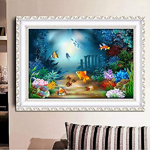 OrchidAmor 5D Full Square Dirll Embroidery Paintings Rhinestone Pasted DIY Diamond Painting
