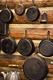 22 inch frying pan - MT, Lewis and Clark NF Skillets in the kitchen by Don Paulson - 14