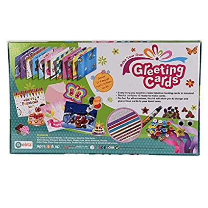 Buy halo nation make your own greeting card decoration kit by ekta halo nation make your own greeting card decoration kit by ekta m4hsunfo