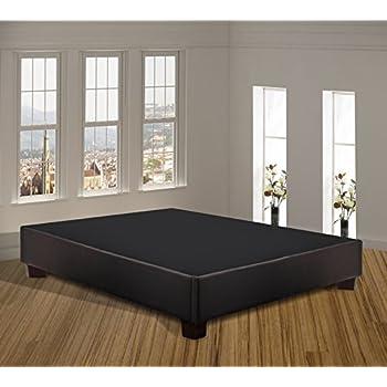 Amazon Com Spring Sleep Platform Bed For Mattress Queen