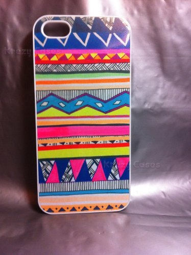 Krezy Case iPhone 6 Plus case, iPhone 6 Plus case, The New iPhone, Aztec Pattern Colorful design case For your...