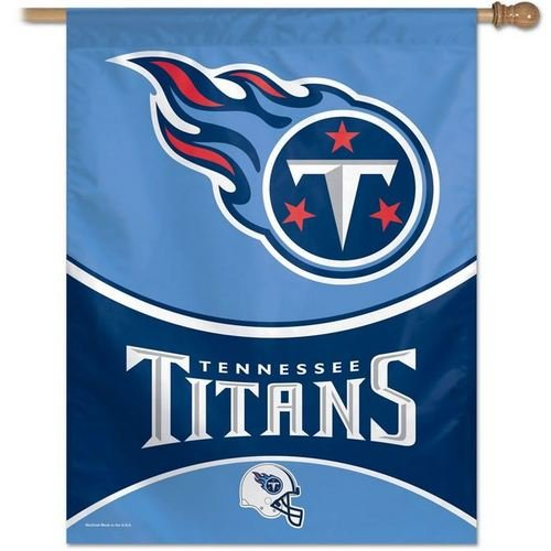NFL Tennessee Titans 27-by-37-Inch Vertical (Tennessee Titans House Banner)