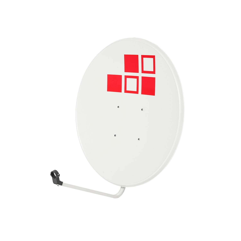LNB Soporte Kit Parab/ólica 60cm Conectores Diesl.com Tacos a Pared 10x Bridas