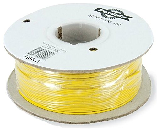 PetSafe Boundary Wire, 500 foot Spool of Solid Core 20-Gauge Copper Wire, In-Ground Pet Fence Wire, Colors May Vary - Invisible Fence Pet Containment