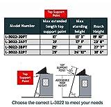 Louisville Ladder FE3240 Extension Ladder, 40-Foot, Orange