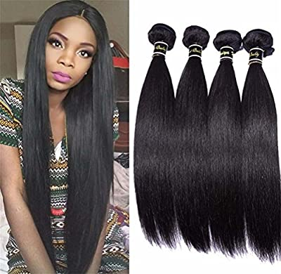 MXXYY Malaysia Hair Weave 3 Bundles Silky Straight Hair Weft 7A Unprocessed Remy Human Hair Extensions 300g/Lot Natural Color