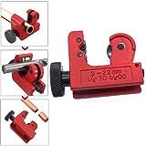 DIAOSnx 3-22mm/1/8inch to 7/8inch OD Mini Hand Miniature Copper Pipe Tube Tubing Cutter Tool