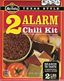 3 alarm chili mix - Wick Fowlers Chili 2 Alarm Kit, 3.625 oz