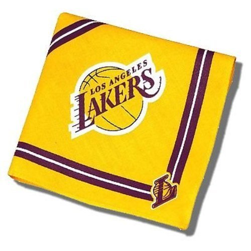Sporty K9 NBA Los Angeles Lakers Dog Bandana, Small