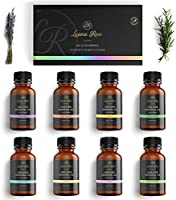 Luana Rose - Ätherische Öle Sets - 100% Vegan & Naturrein - Aromaöle für Diffuser & Aromatherapie