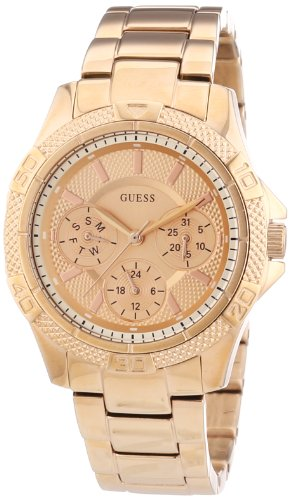 Guess W0235L3 36mm Gold Steel Bracelet & Case Acrylic Women's Watch