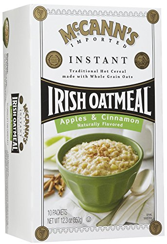 McCann's Instant Irish Oatmeal - Apple Cinnamon - 12.3 oz - 10 ct